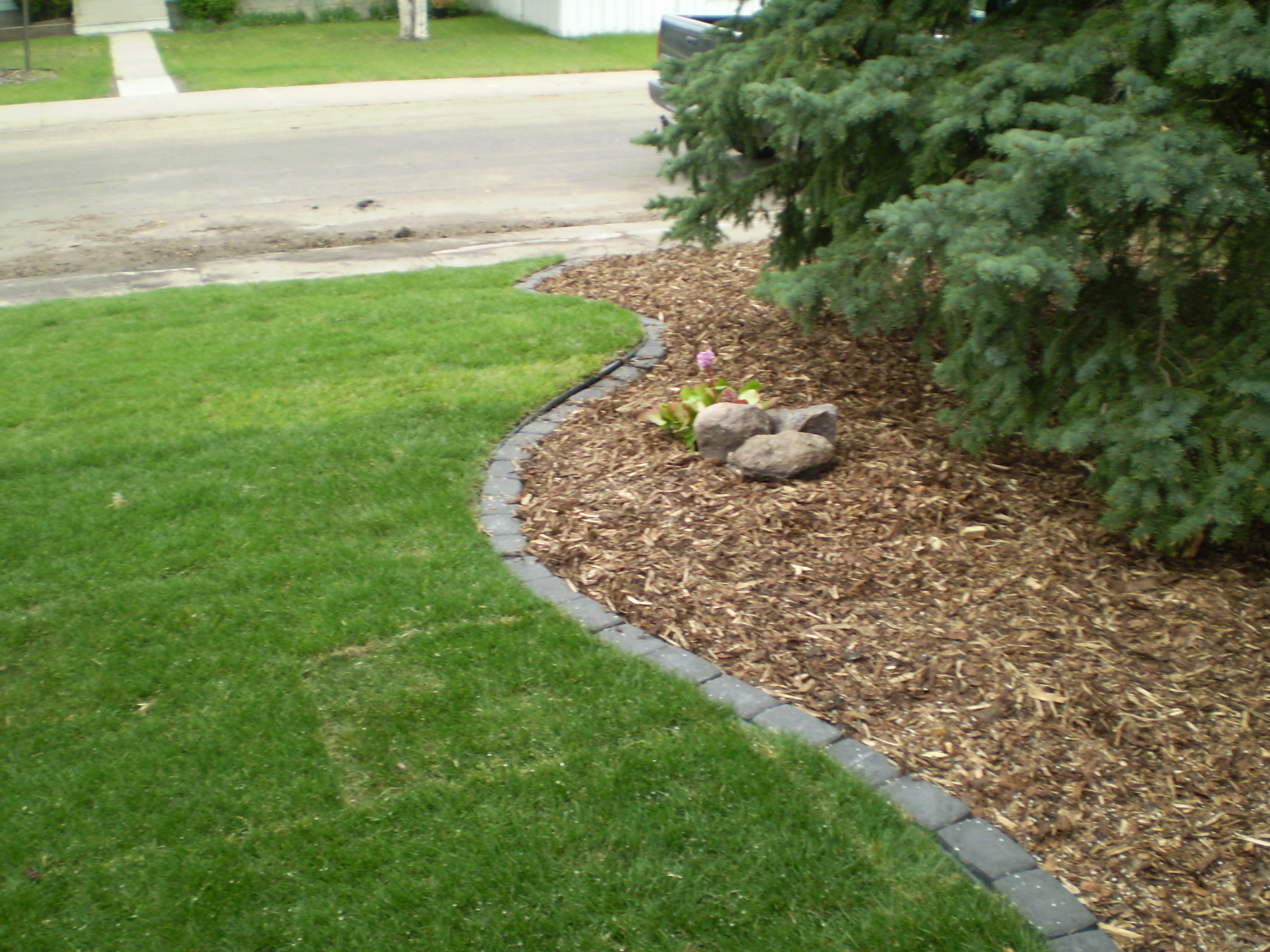 Landscape Edging White :