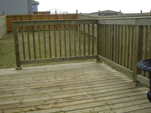 Pressure treated decking whitemud landscaping and garden for Low price decking